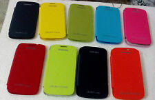 for samsung galaxy core duos i8262 i8260 flip case back folio cover new colour