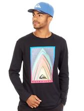 Quiksilver Black Stacked Long Sleeved T-Shirt