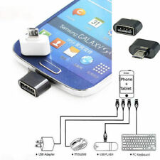 Micro USB To USB 2.0 Adapter Mini OTG 5 Pin Converter F/ Android Samsung Adaptor