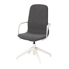 LÅNGFJÄLL Swivel chair with armrest, 4 legs without castors, Max. height:104 cm