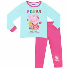 Peppa Pig Pyjamas | Girls Peppa Pig PJs | Kids Peppa Pig Pyjama Set | New
