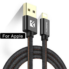 FLOVEME Apple Cable Braided Lightning USB Data Charger For iPhone X XS 8 7 6