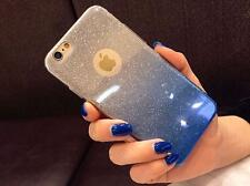 Gradient Glitter* Transparent Soft Silicon Back Case Cover For Apple Iphone 6/6S