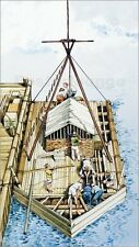 Poster / Leinwandbild Kon-Tiki being constructed from bals... - English School