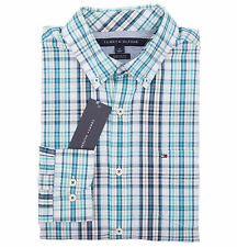 Tommy Hilfiger Men's Long Sleeve Custom Fit Plaid Casual Shirt - $0 Free Ship