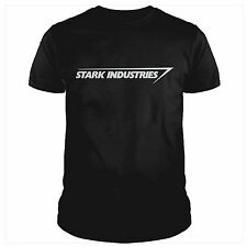 Maglietta uomo tony STARK INDUSTRIES iron man ironman movie film t-shirt cartoon