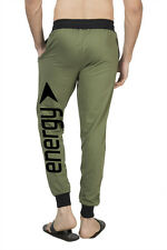 Clifton Mens BLL Printed Coloured Slimfit Trackpant-Olive-Black Energy