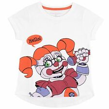 Girls Five Nights At Freddy's T-Shirt | Kids Five Nights At Freddys Top | New