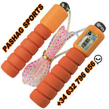 Skipping Jump Rope With Digital Counter Foam Jumping Excercise Fitness Sports