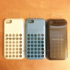 Genuine Official Apple iPhone 5C Case Silicone Dot Back Cover Retail Pack Sealed