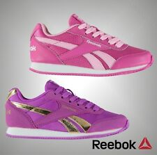 New Kids Girls Genuine Reebok Casual Classic Jogger RS Trainers Shoes Size C10-2