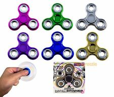 Fidget Spinners Hand Spinners Toy Metallic Anxiety Stress Relief Focus EDC New