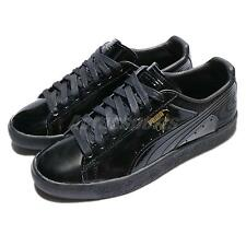 Puma Clyde Wraith Pack Walt Clyde Frazier Black Patent Leather Men 363512-01