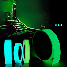 5mx15mm Luminous Tape Self-adhesive Green Blue Glowing In The Dark Safety Stage