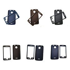 For Motorola Moto Full Body Protective Phone Case Front PC+ Soft TPU Silicon