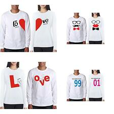 OO LaLa Ji  Best Anniversary Gift  Full Sleeves Couple T-Shirt  Collection No 1