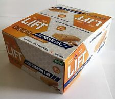 LIFT Peanut Caramel / Chocolate Chip Carb Reduced Protein Bar - Pack of 16 Bars