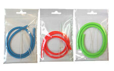 STONFO 60CM HOLLOW CATAPULT ELASTIC CARP FISHING 5MM 6MM 7MM + 4 CABLE TIES