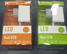3 In 1 FAST Triple LED CHARGER For Iphone 5 5s 6 6 + Ipad And Android | Dual USB