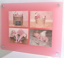"""Cheshire Acrylic 5x7"""" /7x5"""" multi picture photo frame for 7 x 5"""" all colour"""
