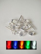 5mm Red/Green/Blue/Yellow/White LED Diodes Light - UK seller