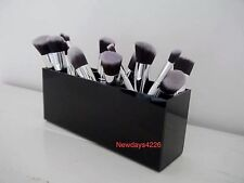 Makeup Brush & Brush Holder/Makeup Organizer Long 3 Section Or 4 Section Black