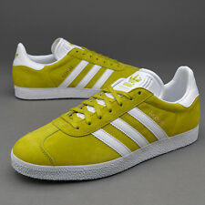 Adidas Originals Gazelle Suede Mens trainers Lime Green Trainers BB5474
