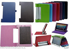 LENOVO YOGA 8 B6000 PREMIUM LEATHER CASE FLIP COVER WITH MAGNET LOCK | 4 COLORS