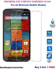 Premium Tempered Glass Screen Guard Protector For Motorola Moto ( All Models).