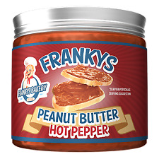 Frankys Bakery Peanut Butter, No Added Sugar, Low Carb, No Salt, No Palm Oil