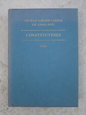 Constitutions of the United Grand Lodge of England Pocket Issue - various years