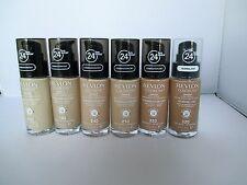 Revlon Colorstay 24hr Wear Makeup SPF15 Foundation 30ml With Pump Assorted shade