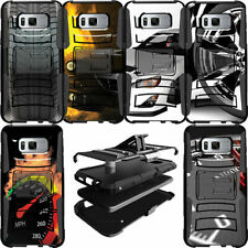 Shockproof Heavy Duty Hybrid Protective Dual Layer Case for [Samsung S8 S7 S6]