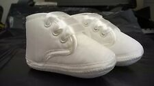 BABY BOYS SPECIAL OCCASION IVORY/CREAM CHRISTENING SHOES