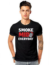 CS Go Blake Smoke Mid Everyday weed joint cigarettes Funky Casual  T-shirts