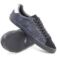 Fred Perry Men's Howells Camo Jacquard Trainers Shoes B8251-102 - Black