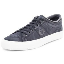 Fred Perry Men's Kendrick Tipped Cuff Camo Jacquard Trainers Shoes B8249-102