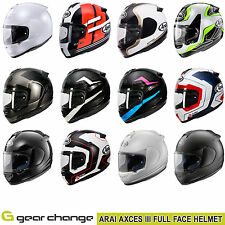 Arai Axces III 3 Motorcycle Helmets From - £329.99 To £429.99
