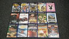 Playstation 2/PS2 Games Make Your Own Bundle/Joblot Tested And Complete (14)