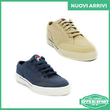 Scarpa Fila uomo donna blu/beige Tarp Canvas Low