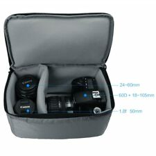 Shockproof Padded Foldable Partition Camera Insert Protective Bag for DSLR Sony