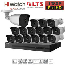 8CH DVR HD 2.4MP 1080P CCTV OUTDOOR Camera Home Surveillance Security System Kit