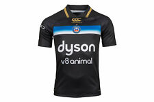 Canterbury Bath 2017/18 European/3rd S/S Pro Rugby Shirt Top Sports Workout