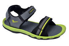 Calcetto Brand Mens Grey Green Sports Sandal 1615