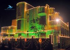 40 Foot CLEAR LED DECORATION RICE LIGHT WITH CHANGER FOR DIWALI,CHRISTMAS(13M)