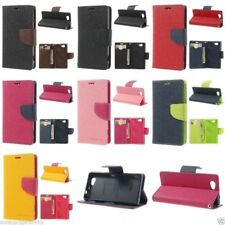 Mercury Goospery Leather Case Flip Cover For Sony Xperia Z1 C6903 C6902 L39h