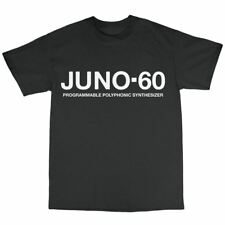 Juno-60 Synthesiser T-Shirt 100% Cotton Juno-6 106 Synthesizer Moog
