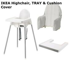 BABY HIGHCHAIR WITH SAFETY STRAPS & MATCHING TRAY IKEA ANTILOP 48 hrs Delivery