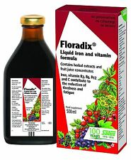 Floradix Liquid Herbal Food Supplement Iron & Vitamin Formula 500ml