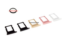Original Sim Card Holder Tray with Waterproof Gasket Ring for iPhone 7 & 7 Plus